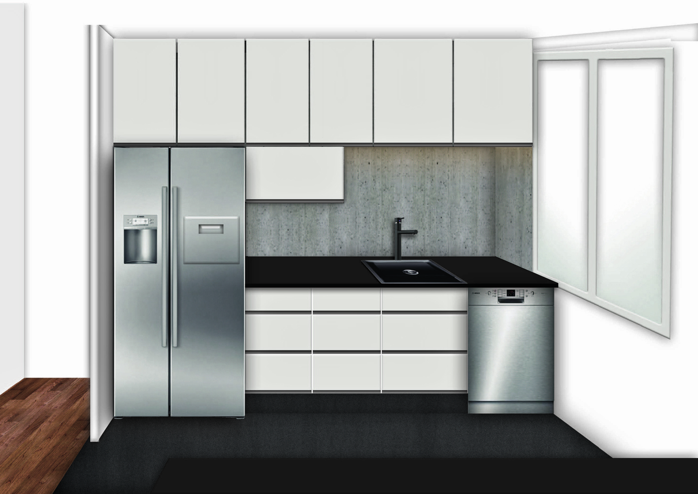 Køkken nyt design illu – KANT IDEUDVIKLING