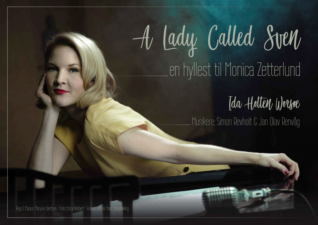 Plakat Monica Zetterlund 2018