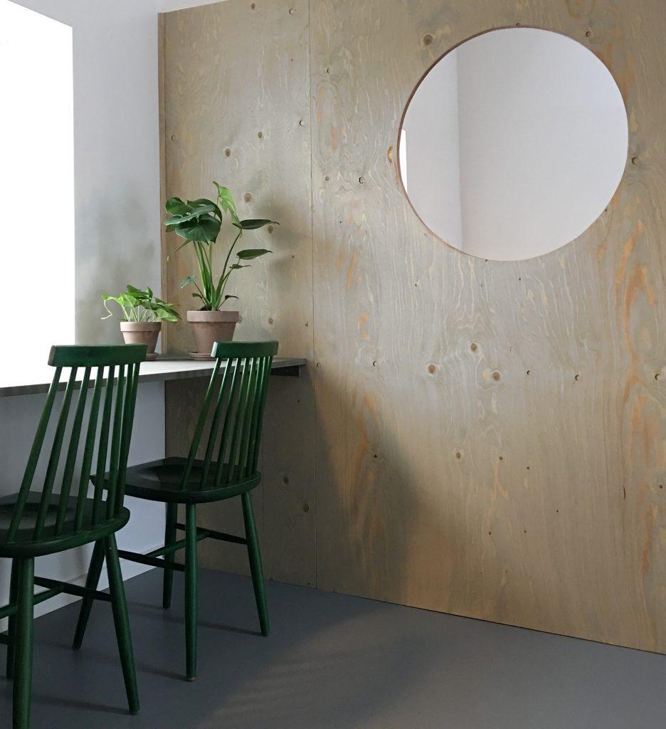 grønne stole