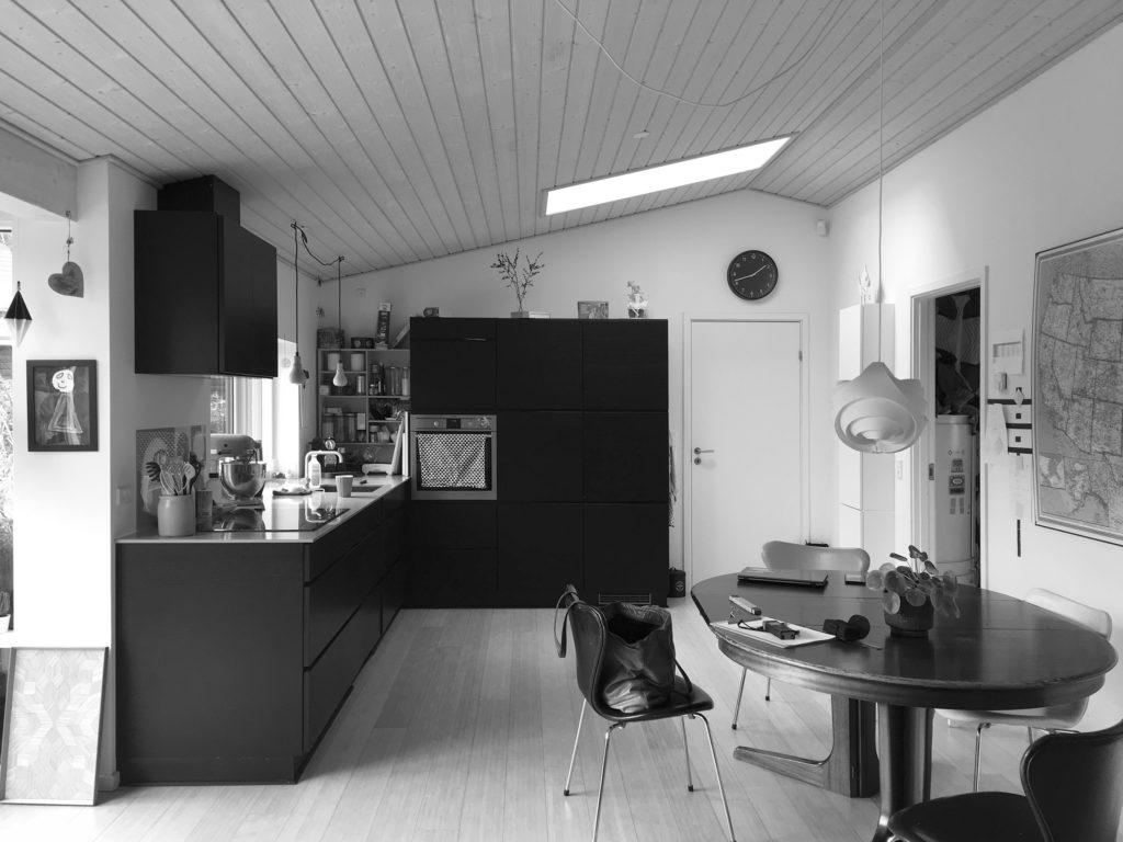 køkken før
