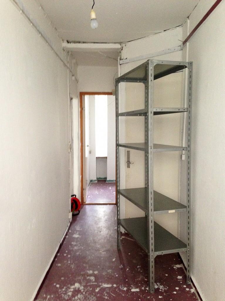 kontorlokale før renovering