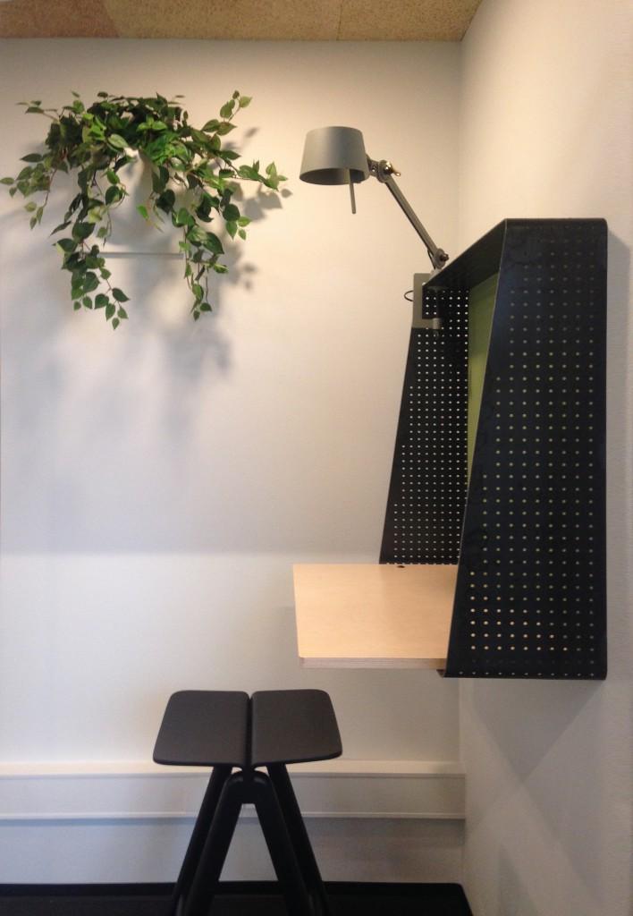 lille skrivebord grønt